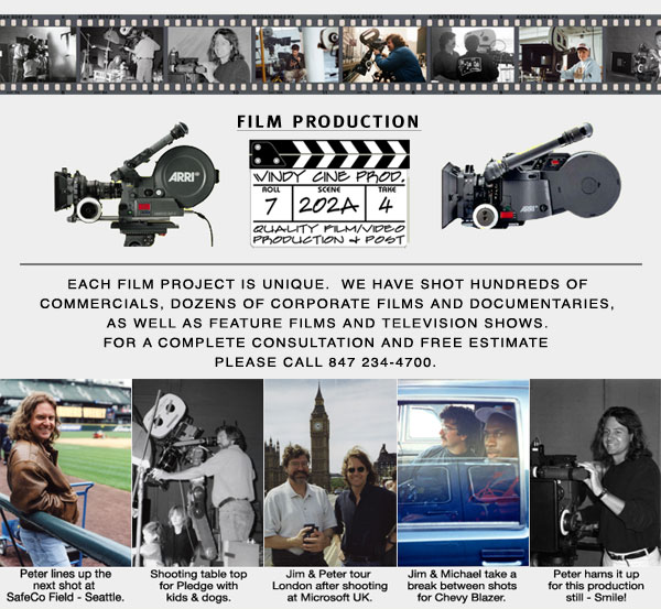 Chicago Film Production services